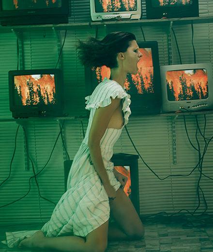 "La série mode ""Mutante"" par Hugh Lippe"