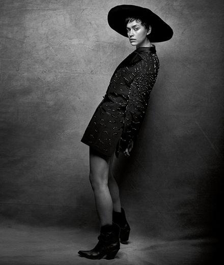 Numéro 200 : Irina Shayk photographiée par Peter Lindbergh et Babeth Djian