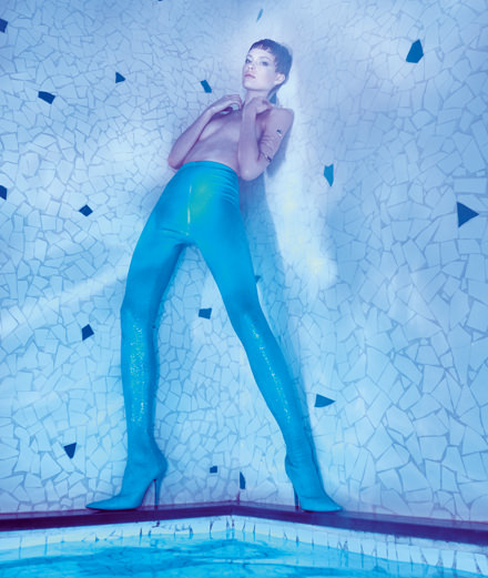 """La piscine"", a fashion story by Emmanuel Giraud"