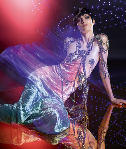 """La prédatrice"", a fashion story by Warren Du Preez and Nick Thornton Jones"