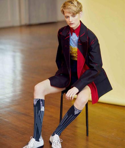 """La garçonne"", a fashion story by Ola Rindal"