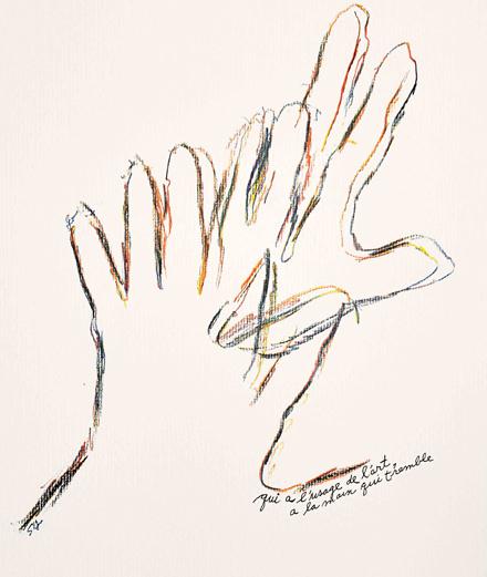 Portfolio exclusif : les jeux de main de Sheila Hicks, célébrée au Centre Pompidou
