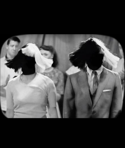 "Sia and Sean Paul pastiche black & white TV in their new music video ""Cheap Thrills"""