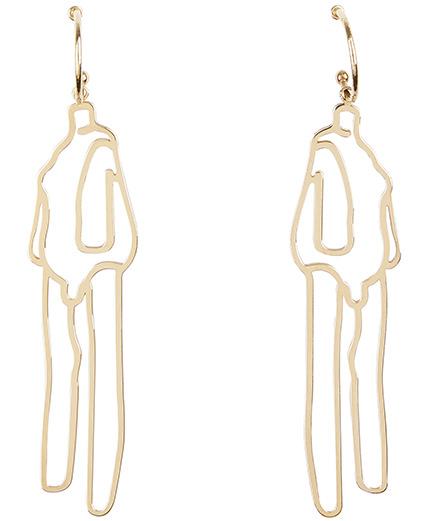 Louise Bourgeois inspire Simone Rocha pour deux paires de boucles d'oreilles