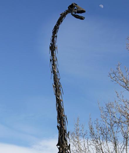 À combien partira le dinosaure Skinny lors de la vente Aguttes ?