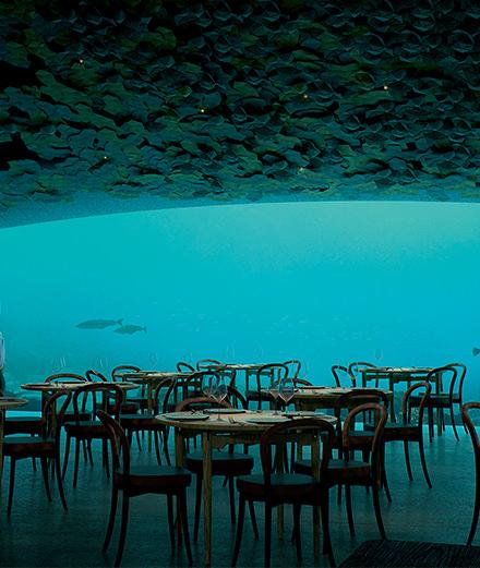 Snøhetta, les architectes qui vous emmènent sous l'eau
