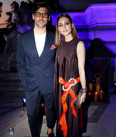 Quelles étaient les personnalités présentes lors de la soirée de la Fédération de la Haute Couture et de la Mode ?