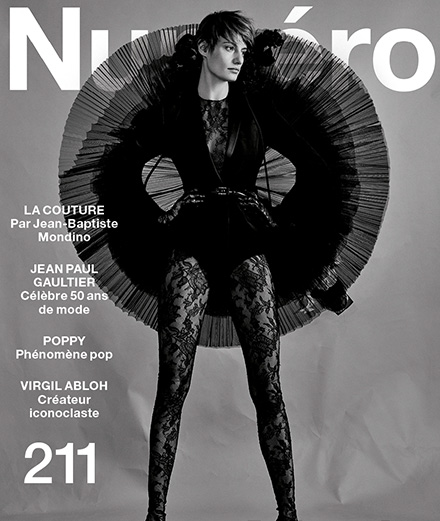 "The contents of Numéro's March 2020 ""Mode"" issue"
