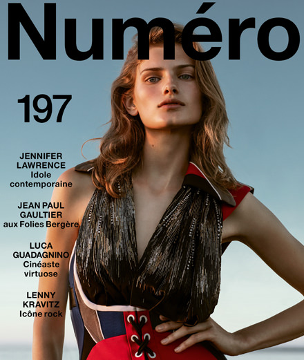 Jennifer Lawrence, Lenny Kravitz, Jean Paul Gaultier, Luca Guadagnino… Discover the contents of October 2018's Numéro