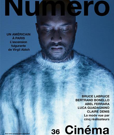 Exclusif : le créateur Virgil Abloh par Jean-Baptiste Mondino en couverture du nouveau Numéro Homme