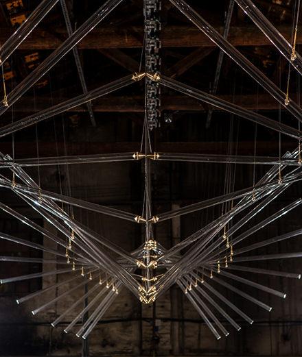 Le Studio Drift, invité surprise du défilé haute couture d'Iris van Herpen