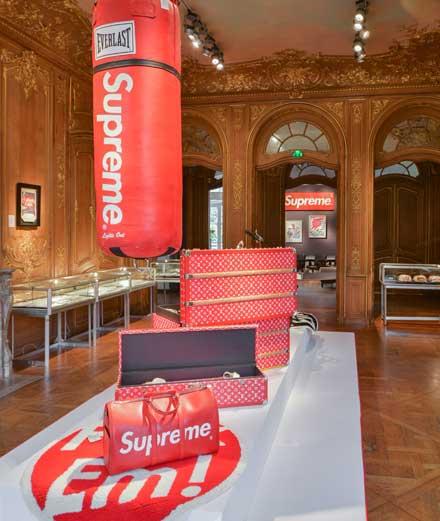Le label Supreme mis aux enchères à Paris