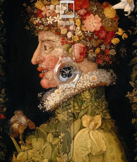 Les chefs-d'œuvre du musée du Louvre en montres Swatch