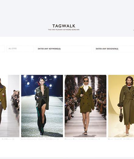 Tagwalk, une révolution pour la mode?
