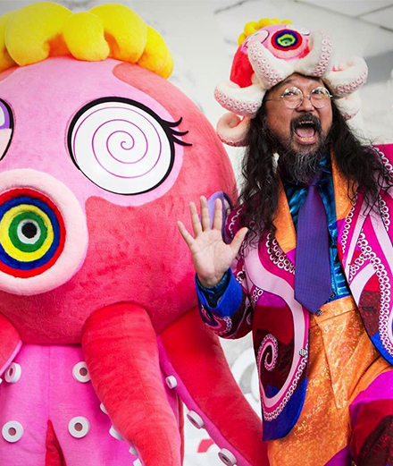 Takashi Murakami en 10 personnages fétiches