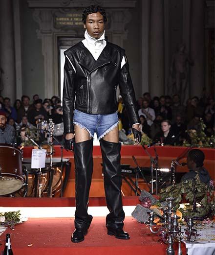 Telfar fall-winter 2020-2021 fashion show