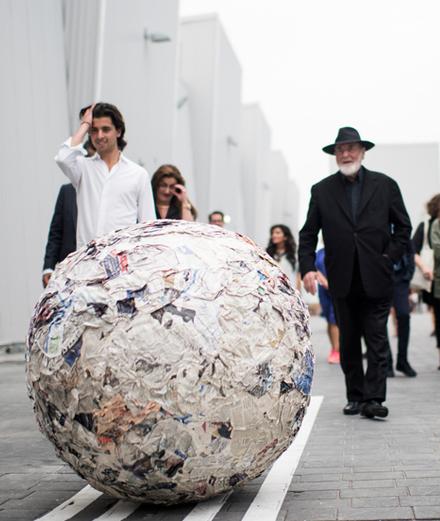 Nuit Blanche : participez aux deux performances de Michelangelo Pistoletto
