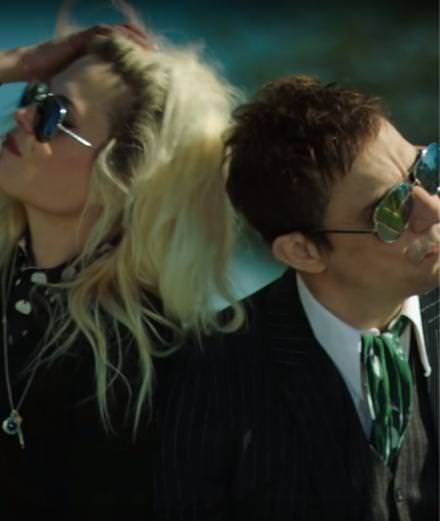 "The Kills unveil a new rock'n'roll music video ""Doing It to Death"""