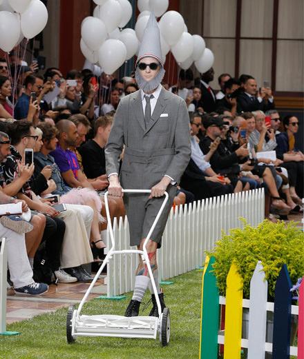 Le défilé Thom Browne homme printemps-été 2019