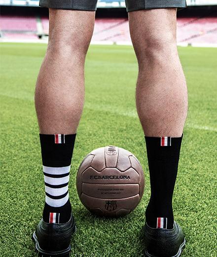 Les costumes Thom Browne rhabillent le FC Barcelone