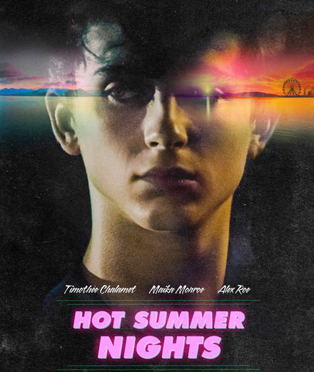 "Pour ""Hot Summer Nights"", Timothée Chalamet change de registre et devient trafiquant de drogue"