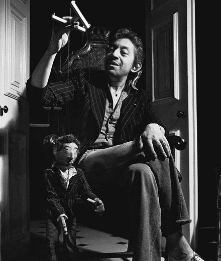 Le photographe Tony Frank s'invite chez Gainsbourg
