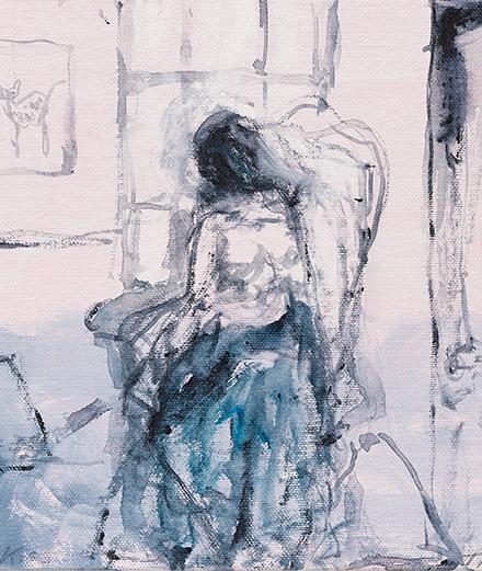 Tracey Emin peint la solitude à la galerie White Cube