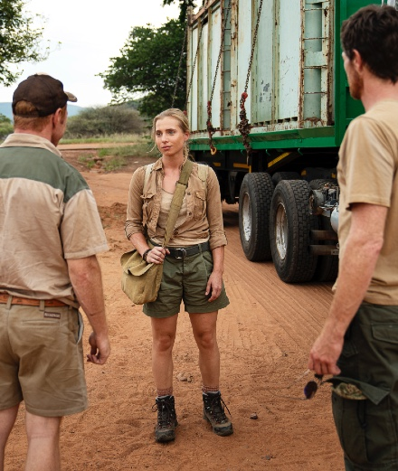 Trackers: Rhinocéros et trafic de diamants sur OCS
