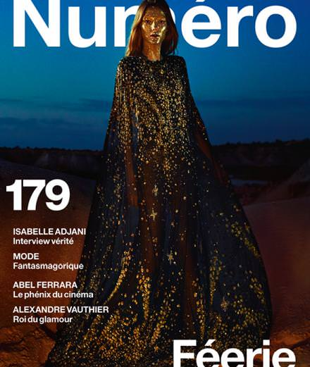 Isabelle Adjani, Alexandre Vauthier, Abel Ferrara, Guido Mocafico, Olivier Assayas... Discover the guests from Féérie, the December issue of Numéro