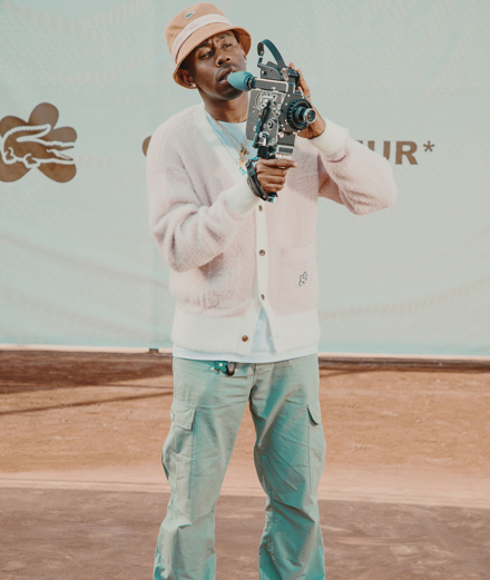 Tyler, The Creator x Lacoste, this summer's coolest collab