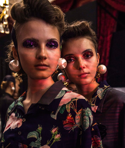 Backstage : Undercover spring-summer 2018 fashion show 2018 by Mehdi Mendas