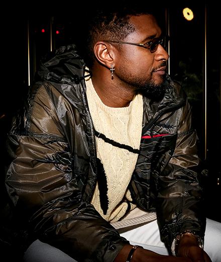 Usher et Pedro Winter à la soirée Moncler, Awake NY et MyTheresa
