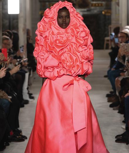 Le défilé Valentino haute couture printemps-été 2019