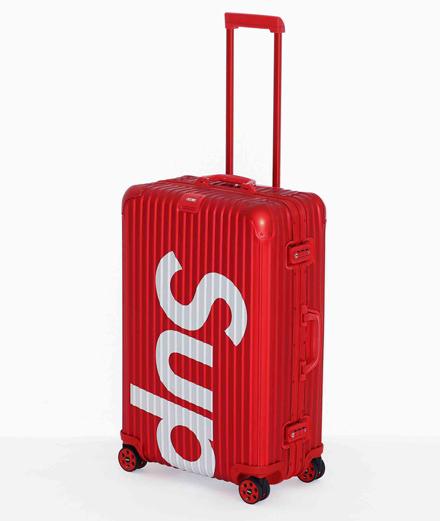L'objet du jour : la valise Supreme x Rimowa