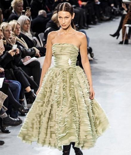 Le défilé Alexandre Vauthier haute couture printemps-été 2020 vu par Mehdi Mendas