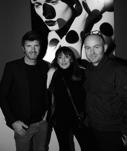 Le vernissage de l'exposition Sølve Sundsbø x Numéro au Studio des Acacias