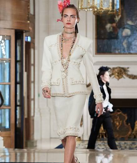 "Chanel ""métiers d'art"" runway show at Le Ritz in Paris"