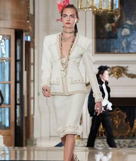 Chanel Métiers d'art runway show at Le Ritz in Paris