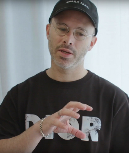 Video: exclusive look at Daniel Arsham's Dior collaboration