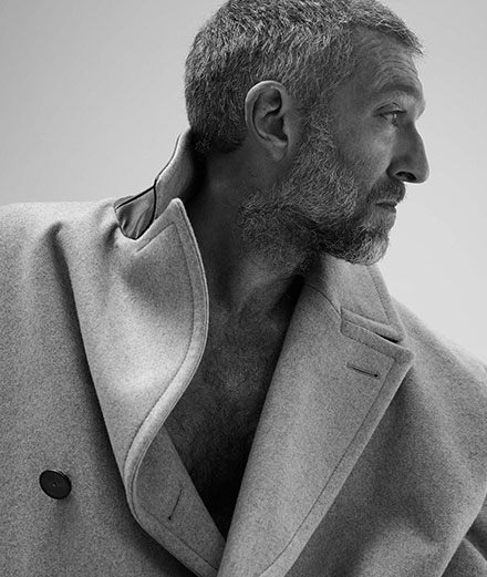 Treat yourself to Vincent Cassel's portrait by Mondino