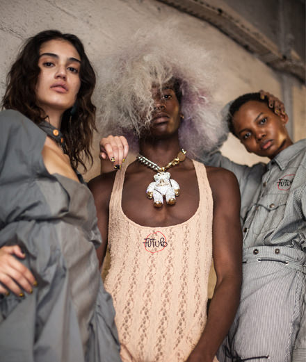 Backstage : Vivienne Westwood Spring-Summer 2019 fashion show seen by Mehdi Mendas