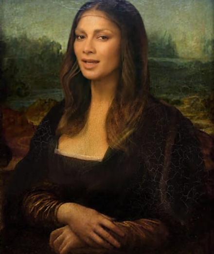 """will.i.am et Nicole Scherzinger s'invitent au Louvre pour la vidéo de """"Mona Lisa Smile"""""""