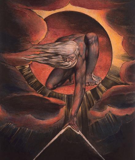 Comment William Blake représente l'au-delà