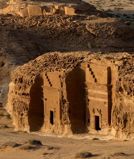 Découvrez le nouveau Pétra : l'oasis d'AlUla