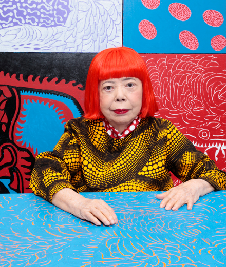Des peintures de Yayoi Kusama resurgissent 60 ans plus tard