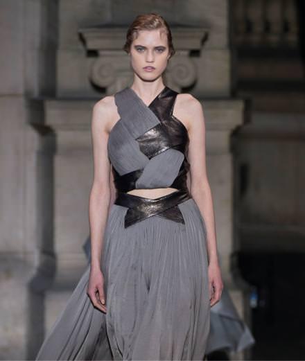 Yiqing Yin haute couture spring-summer 2016 fashion show