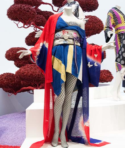 Japanese rock star Yoshiki exhibits his kimonos at the V&A