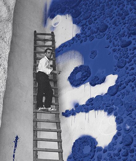 Les 5 visages d'Yves Klein au Centre Pompidou-Metz
