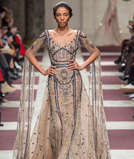 Le défilé Ziad Nakad haute couture printemps-été 2019