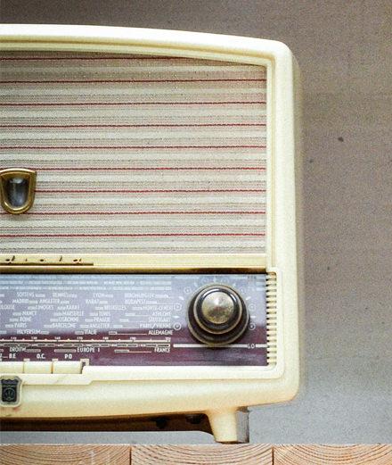 Objet du jour : l'authentique poste de radio 50's version bluetooth